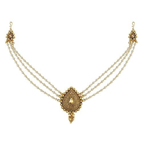 MUCHMORE Ausgezeichnete vergoldet indischen Haar Pin Haar Clip Haar Schmuck für Damen