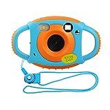 Miavogo Kinderkamera Kamera für Kinder 5 Megapixel 1,77 Zoll LCD, Orange (Generation 2.)