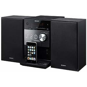 sony cmt fx300i kompaktanlage ipod dock usb schwarz heimkino tv video. Black Bedroom Furniture Sets. Home Design Ideas