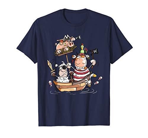 Cooles Piraten T Shirt I Seeräuber I Jungen Geschenk I