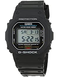 Casio G-Shock – Herren-Armbanduhr mit Digital-Display und Resin-Armband – DW-5600E-1VER