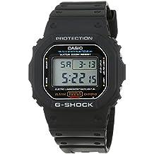 Casio G-Shock – Reloj Hombre Digital con Correa de Resina – DW-5600E-1VER