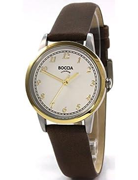 Boccia Damen-Armbanduhr 3257-02