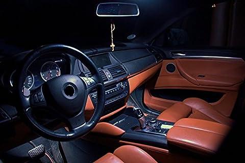 LED Innenraumset in Xenon Weiß passend für VW Golf 6 auch GTI 3- und 5-Türer Baujahr seit 2008
