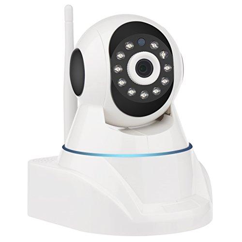 IP Kamera 1080P HD WIFI Überwachungskamera für Haus Überwachung Baby Monitor Schwenkbar Sicherheitskamera mit App Kontrolle Bewegungserkennung IR Nachtsicht Zweiwege-Audio (1080P N5950HH-B)
