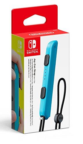 Nintendo - Joycon Strap, Color Azul (Nintendo Switch)