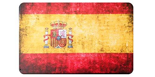 Placas metálicas Decorativas Vintage Bandera España