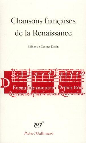 Chansons françaises de la Renaissance