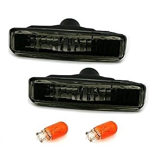 AD Tuning GmbH & Co. KG 960665 Seitenblinker Set, Klarglas Schwarz