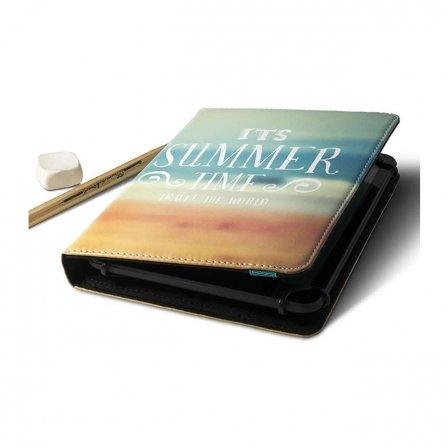 Wasabi-Universal Tasche Wolder a01fu0051Summer-Für Tablet 9.7-10.1'/24.6-25.6cm-Anpassung System Safe-Clip