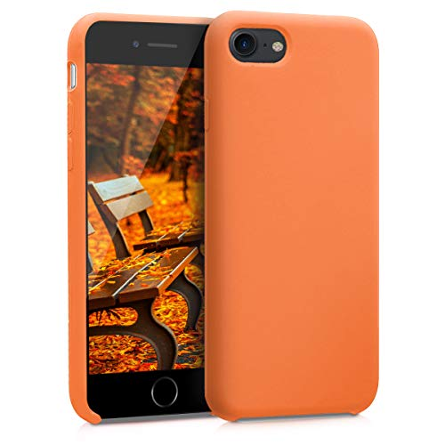 kwmobile Apple iPhone 7/8 Hülle - Handyhülle für Apple iPhone 7/8 - Handy Case in Cosmic Orange