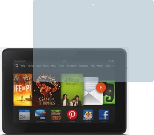 4X Amazon Kindle Fire HDX 7 ENTSPIEGELNDE Displayschutzfolie Bildschirmschutzfolie von 4ProTec - Nahezu blendfreie Antireflexfolie