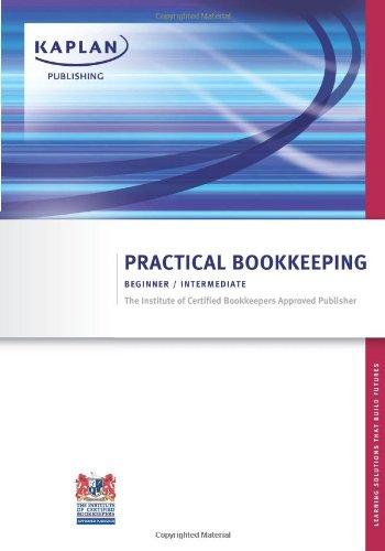 ICB Practical Bookkeeping: Beginner / Intermediate