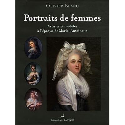 Portraits de femmes : Artistes et modèles à l'époque de Marie-Antoinette