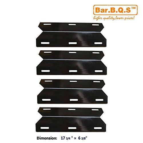 barbqs-91231-4-pack-porcelain-steel-bbq-gas-grill-heat-plate-heat-shield-heat-tent-burner-cover-vapo
