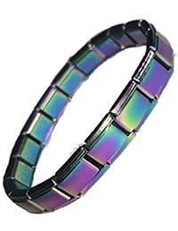 Pulsera de iniciación de color arcoíris, compatible con pulseras y abalorios clásicos Nomination