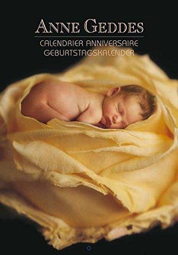 ANNE GEDDES Geburtstagskalender - Flower Anne Geddes