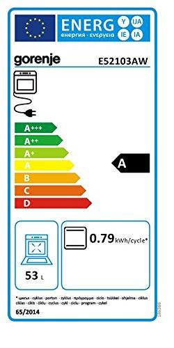 Gorenje E 52103 AW Elektroherd - 2