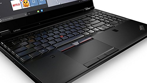 Lenovo ThinkPad P51 2 9GHz i7-7820HQ 15 6  1920 x 1080pixels Black Mobile workstation