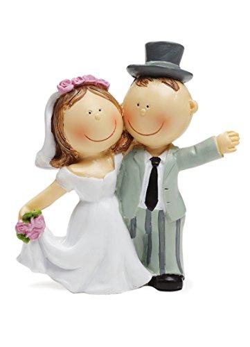 Brautpaar als Tortendeko