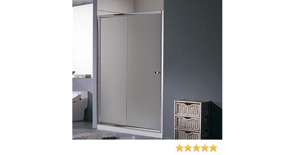 Porta per doccia a nicchia 1 Anta cm 150 scorrevole con vetro puntinato I