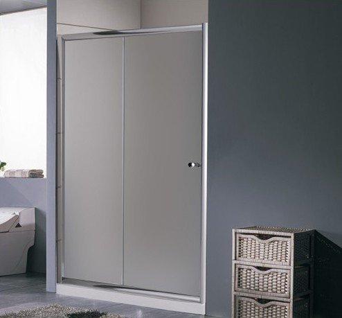 Porta per doccia nicchia 1 Anta 120 scorrevole con vetro puntinato I