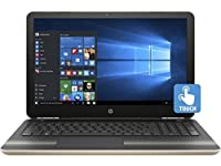 HP Pavilion 15z Modern Gold Laptop PC - AMD A9-9410 Dual Core, Radeon R5 Graphics, 15.6-Inch WLED Touchscreen Display (1920x1080), Windows 10 Home, Backlit Keyboard, 256GB Performance SSD, 16GB RAM
