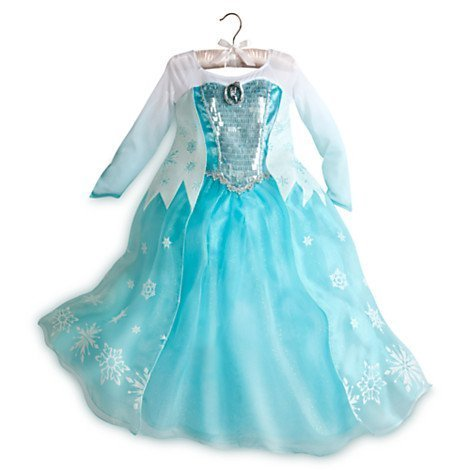 Elsa Kostüm Disney Frozen Medium - Frozen Princess Elsa Costume Size Medium 7/8 by Disney