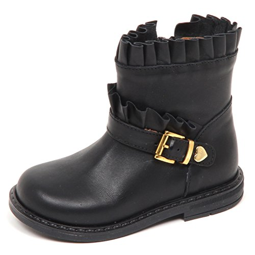 E1542 Stivaletto Bimba Nero Twin-Set Simona BARBIERI Biker Boot Kid Girl [21]
