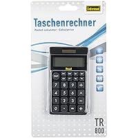 Idena 505126 Idena 505126 - Calcolatrice tascabile TR 800, alimentazione a energia solare, display a 8 cifre, colore nero - Confronta prezzi