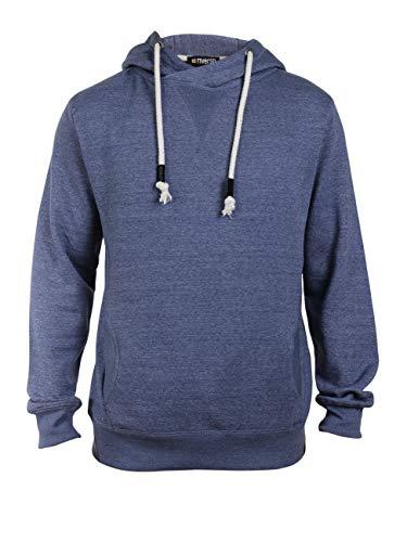 riverso Herren Kapuzenpullover Hoodie Pullover mit Kapuze 'Karl' Uni, Größe:M, Farbe:Vintage Blue Melange (Hollister Hoodie Für Jungen)