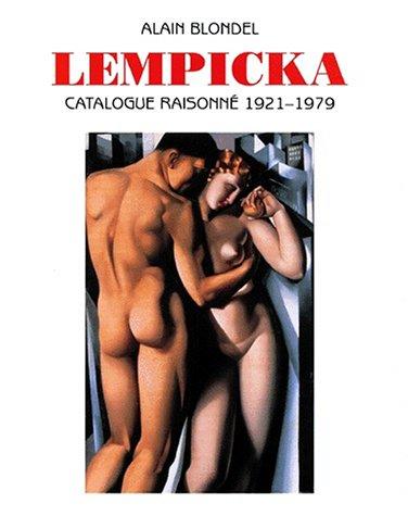 LEMPICKA. Catalogue raisonné 1921-1979, édition bilingue français-anglais, avec CD-Rom