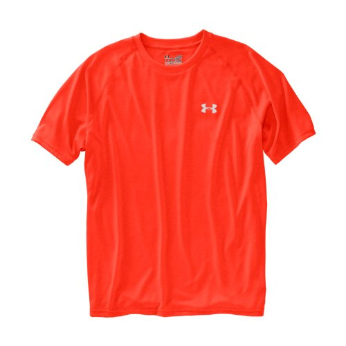 Under Armour Tech T-Shirt manches longues 1/4 zip homme Fuego