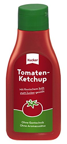 500 ml Xucker Xylit-Ketchup Test