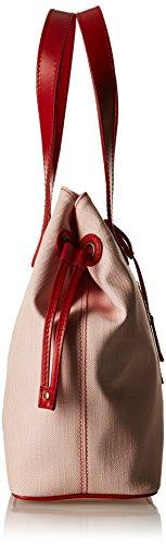 Timberland TB0M3149, Borsa a Spalla Donna, 14x30x35 cm (W x H x L) Rosso (Red)