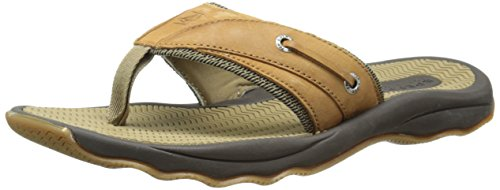 Sperry Topsider Männer Thong (Sperry Top-Sider Men's Outer Banks Thong Fisherman Sandal, Tan, 10 M US)