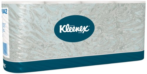 Kleenex 8442 Toilettenpapierrollen (Standard), 350 Rolle pro Karton, 64-er Pack