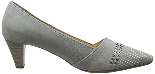 Gabor Damen Fashion Pumps Grau (stone/silber 19)