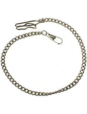 Stahl Kette für Taschenuhren Taschenuhrenkette A9