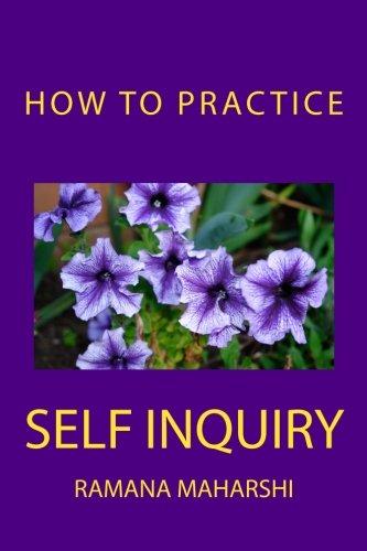 How to Practice Self Inquiry por Ramana Maharshi