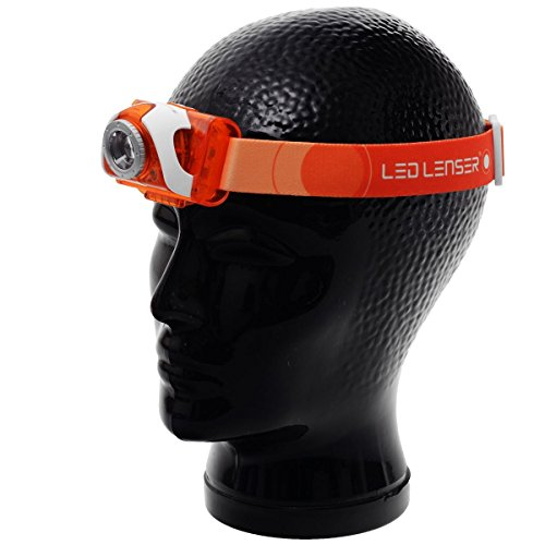 LED Lenser SEO 3 orange, Box,Stirnlampe 6004