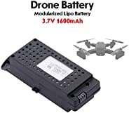 PRO★MAX Lipo Battery 3.7V 1600mAh Modularized Drone Battery for SG700-D RC Drone