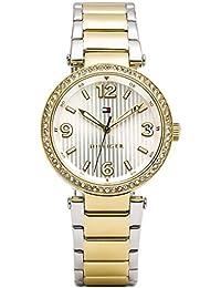 Tommy Hilfiger Damen-Armbanduhr Analog Quarz Edelstahl beschichtet 1781599