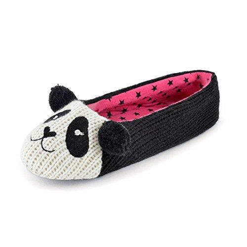 Jumper Panda Animal Chaussons Ballet Slumberzzz Femme qS1zxz