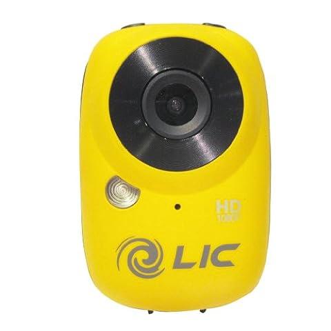 Liquid Image EGO Action-Cam (12 Megapixel CMOS Sensor, microSDHC-Kartenslot, USB