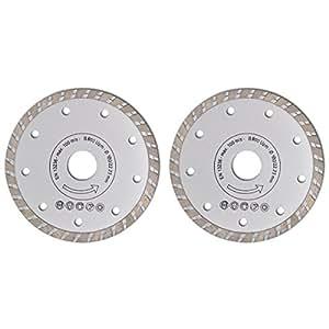 2 pièces lame de scie circulaire 180 mm diamanté turbo 2,2 mm