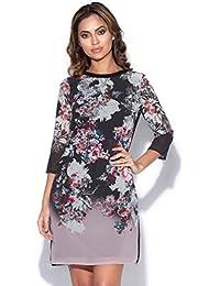 Vestry Autumn Floral Print Shift Dress 83bb92d39