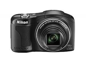 Nikon COOLPIX L610 Compact Digital Camera - Black (16MP, 14x Optical Zoom) 3 inch LCD