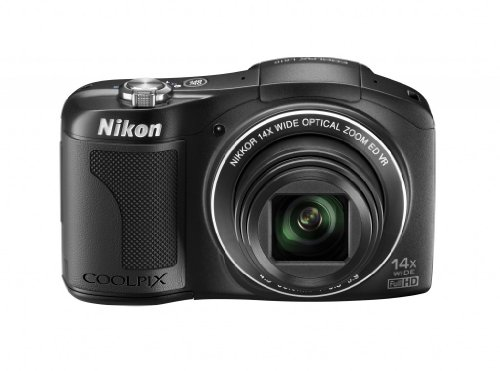 Nikon Coolpix L610 Kompaktkamera (16 Megapixel, 14-fach opt. Zoom, 7,6 cm (3 Zoll) Display) schwarz