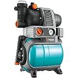 Gardena 1755-20 Pumpe Hauswasserwerk Comfort 4000/5 Eco, mit Trockenlaufsicherung, Rückschlagventil; 3 Anschlüsse (Motorleistung 850W, Max. Fördermenge 3500 l/h, Gewicht 15kg)